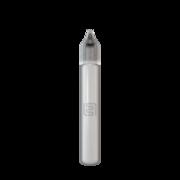 Флакон пластик 15 мл (черная крышка)