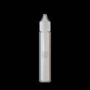 Флакон пластик карандаш 15 мл (белая крышка)