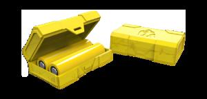 Кейс для двух аккумуляторов Chubby Gorilla (желтый)