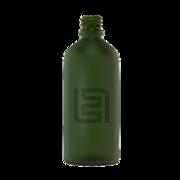 Флакон стекло 100 мл (зеленый матовый)