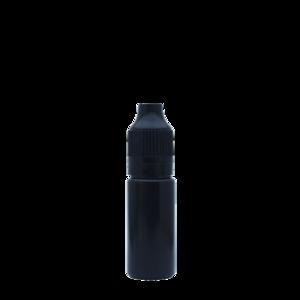 Флакон пластик 10 мл (черный глянцевый)