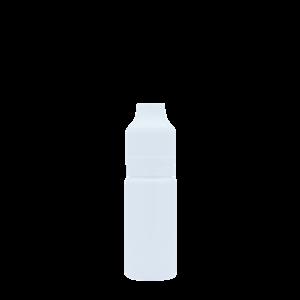 Флакон пластик 10 мл (белый глянцевый)