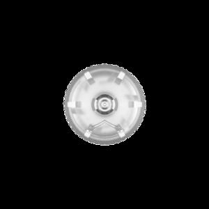 30ML V3 PET UNICORN BOTTLE WITH CRC & TAMPER EVIDENT BREAK-OFF BANDS (CLEAR BOTTLE WITH NATURAL CAP)