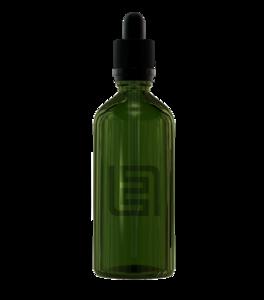 Флакон-капельница 100 мл с крышкой и пипеткой (зеленый)