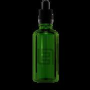 Флакон-капельница 50 мл с крышкой и пипеткой (зеленый)