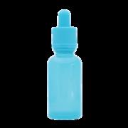 Флакон-капельница 30 мл с крышкой и пипеткой (голубой)