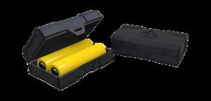 Кейс для двух аккумуляторов Chubby Gorilla (черный)