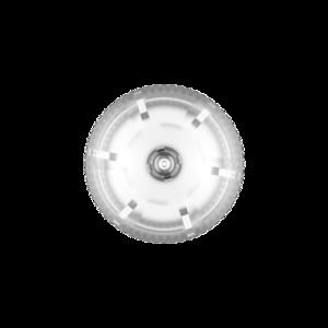 60ML V3 PET UNICORN BOTTLE WITH CRC & TAMPER EVIDENT BREAK-OFF BANDS (CLEAR BOTTLE WITH NATURAL CAP)