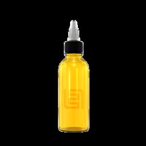 Флакон пластик 60 мл (желтый)