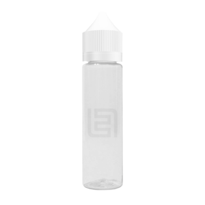Флакон пластик Chubby Gorilla 60 мл (прозрачный с белой крышкой)