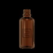 Флакон стекло 50 мл (коричневый)