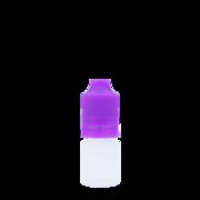 Флакон пластик 5 мл (фиолетовая крышка)