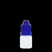 Флакон пластик 3 мл (синяя крышка)