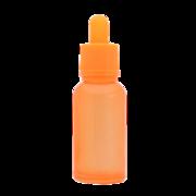 Флакон-капельница 30 мл с крышкой и пипеткой (оранжевый)