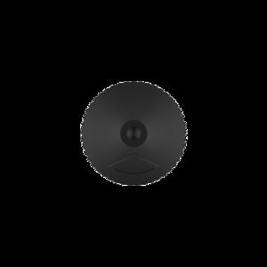 10ML V3 PET UNICORN BOTTLE WITH CRC & TAMPER EVIDENT BREAK-OFF BANDS (CLEAR BOTTLE WITH SOLID BLACK CAP)