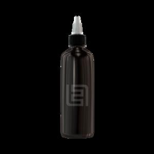 Флакон пластик 120 мл (черный)