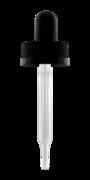 Крышка с пипеткой (черная) и защитой от детей GL 20